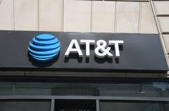 AT&T-TELEKOMMUNIKATION lizenzfreies stockbild