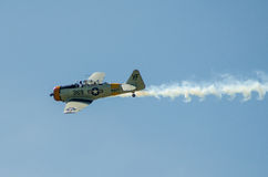 T6 Texan Fighter Stock Photo