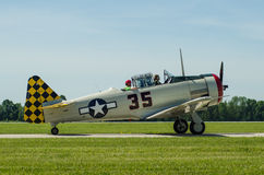T6 Texan Fighter Royalty Free Stock Images