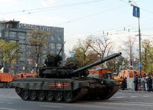 The T-90 is a third-generation Russian main battle tank. Royalty Free Stock Photos