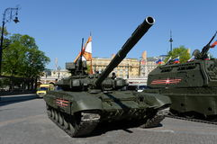 The T-90А is a third-generation Russian main battle tank. Royalty Free Stock Images