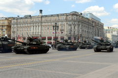 The T-90A is a third-generation Russian main battle tank. Stock Photography