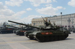 The T-90A is a third-generation Russian main battle tank. Stock Photos