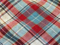 tła tkaniny szkocka krata Zdjęcie Royalty Free