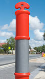 T Top Temporary Bollard Royalty Free Stock Image