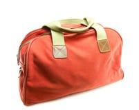 tła torby czerwony biel Obrazy Royalty Free