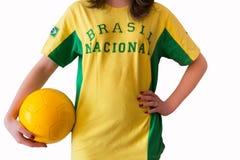T-tröja Brasilien Royaltyfria Bilder