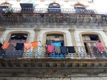 T-TRÖJA HAVANNACIGARR, KUBA Royaltyfri Bild