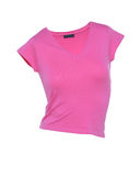 T-tröjarosa färger Royaltyfria Foton