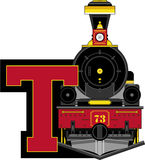 T is for Train Royalty Free Stock Photography