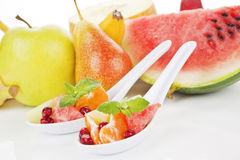 tła tropikalny owocowy Fotografia Royalty Free
