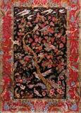 tła turkish dywanowy jedwabniczy Fotografia Stock