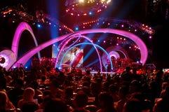 tłum na koncert Obrazy Royalty Free