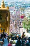 tłumu thaipusam Fotografia Stock