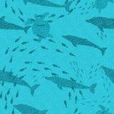 tła underwater Zdjęcia Stock