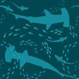 tła underwater Obrazy Stock