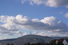 T V - torn Pécs Royaltyfri Bild