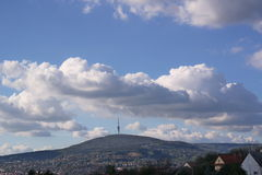 T V - Turm Pécs Lizenzfreies Stockbild