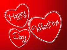 tła valentine Zdjęcia Stock