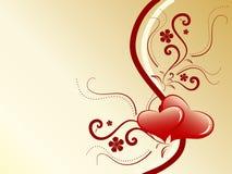 tła valentine Obraz Stock