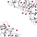 tła valentine Fotografia Royalty Free