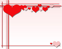 tła valentine s ilustracja wektor