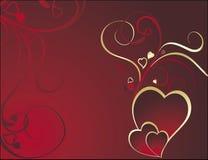tła valentine s Obrazy Royalty Free