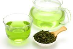 Tè verde del ghiaccio Fotografia Stock Libera da Diritti