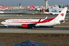 7t-VKF αέρας Algerie, Boeing 737 - 800 Στοκ Φωτογραφίες
