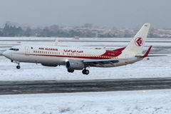 7T-VKN Air Algerie, Boeing 737-800 Fotografia de Stock Royalty Free