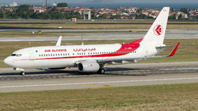 7T-VKQ Air Algerie, Boeing 737 - 800 Imagem de Stock Royalty Free