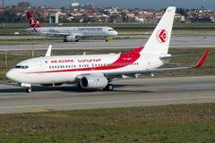 7T-VKT Air Algerie, Boeing 737 - 800 Imagem de Stock