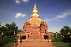 t Wat Pa Salawan在呵叻 免版税库存图片