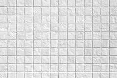 tła wielki mozaiki tekstury biel Fotografia Royalty Free