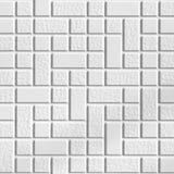 tła wielki mozaiki tekstury biel Zdjęcie Royalty Free