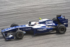 AT & T Williams Formula One Racing Team Stock Photo