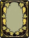 tła winogron rocznik Zdjęcia Royalty Free