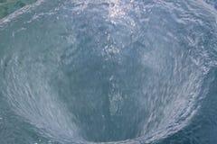 Tła wodny vortex Obraz Royalty Free