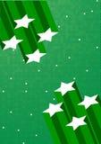 tła zieleni gwiazdy wektor royalty ilustracja