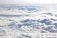 stock image of  above the clouds