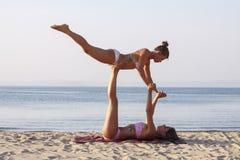 stock image of  acro yoga ii