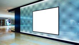 stock image of  advertising blank billboard