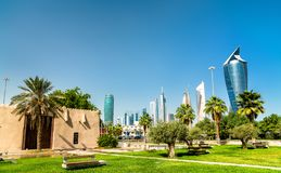 stock image of  al shaab gate in kuwait city