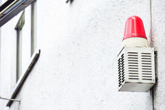 stock image of  alarm system