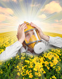 stock image of  the allergy.