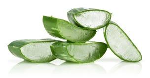 stock image of  aloe vera leaves