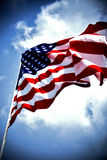 stock image of  american flag