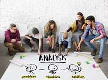 stock image of  analysis creative thinking brainstorm people concept