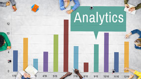 stock image of  analytics analysis insight connect data concept
