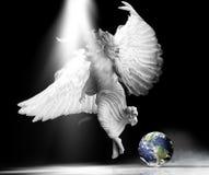 stock image of  angel earth